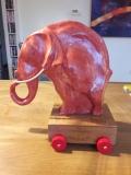 olifant op wielen